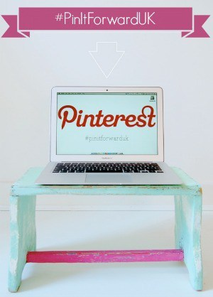 The launch of Pinterest in the UK in May 2013 with the #PinItForwardUK campaign curated by @KrishnaDe