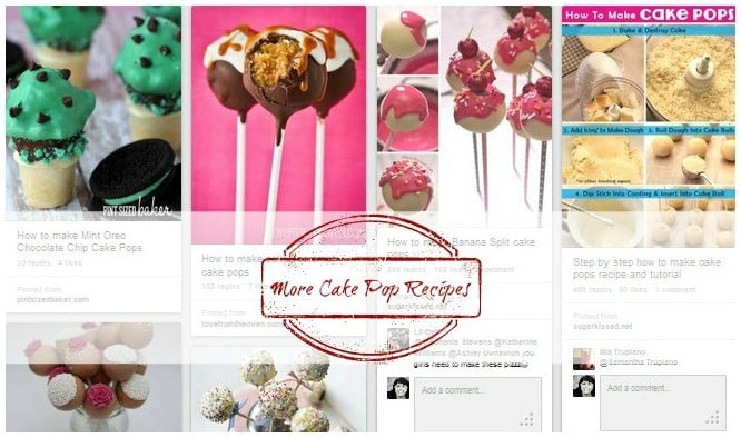 Find more cake pop recipes on Pinterest curated by Krishna De