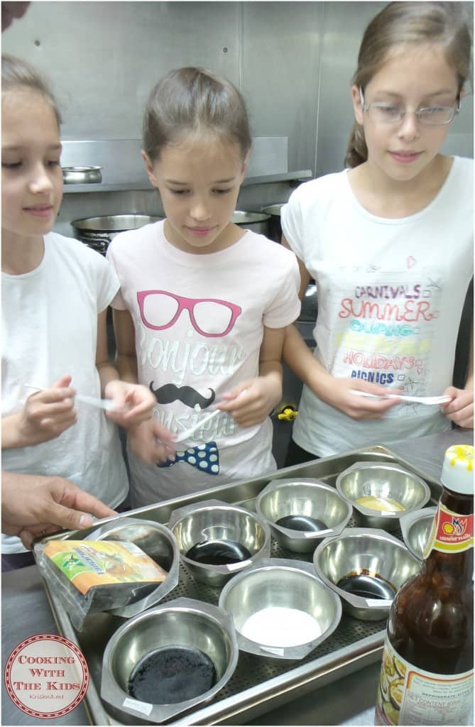 Cooking With The Kids - Cooking Thai Food At Saba To Go - learning about the key ingredients of Thai recipes