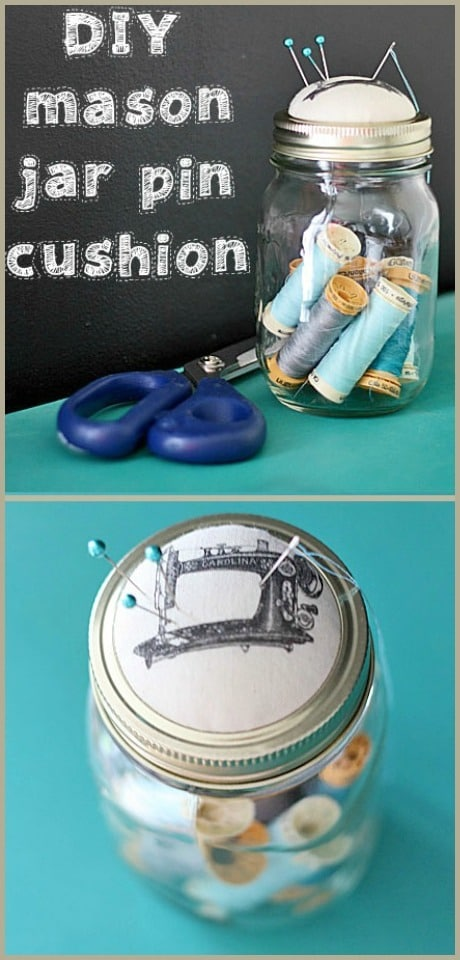 Find it, pin it, make it – two projects using your Mason jars