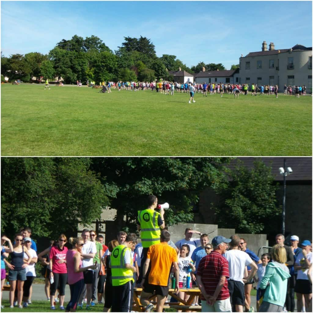 Samsung Galaxy S4 Zoom Review by Krishna De at the 5k Park Run at Marlay Park - comparison using the 10x zoom
