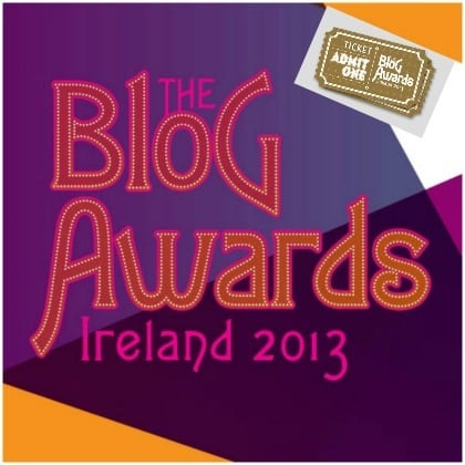 Blog Awards Ireland - how to book your ticket