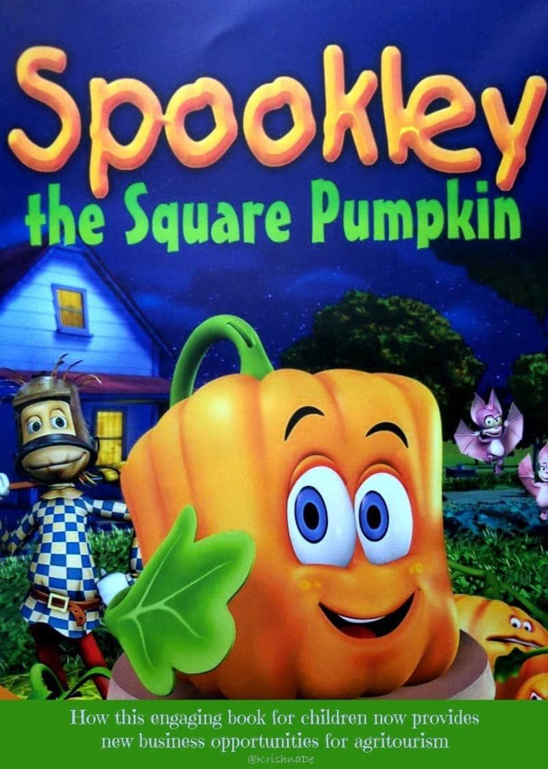 How Spookly the Square Pumpkin provides new business opportunities for agritourism organisations