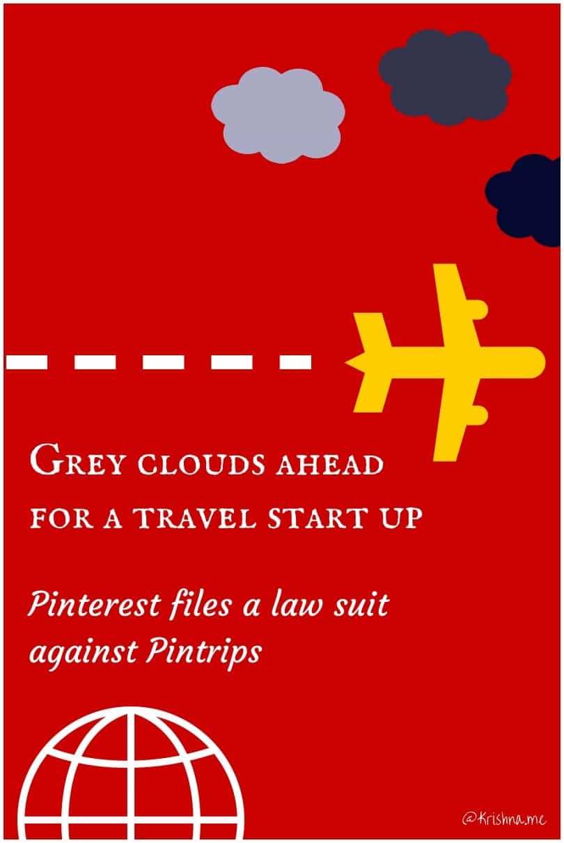 Pinterest files a law suit against a travel planning startup