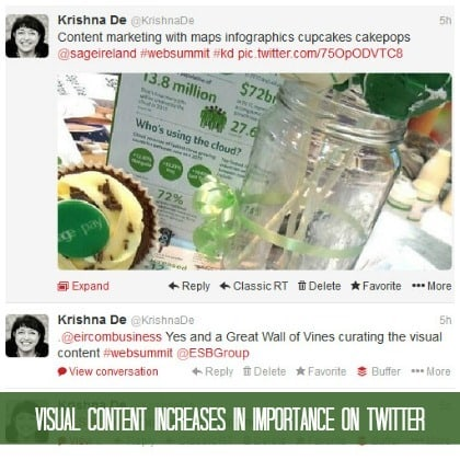 Visual content becomes more prominent in the latest Twitter update @KrishnaDe reports