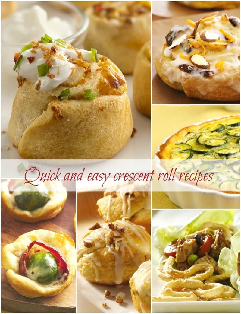 Pillsbury Bake-Off Quick Crescent Roll Recipes Plus 10 More Delicious And Easy Recipes Selected By @KrishnaDe