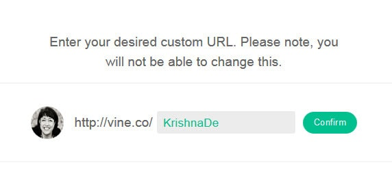 Enter your desired custom url and check it is available
