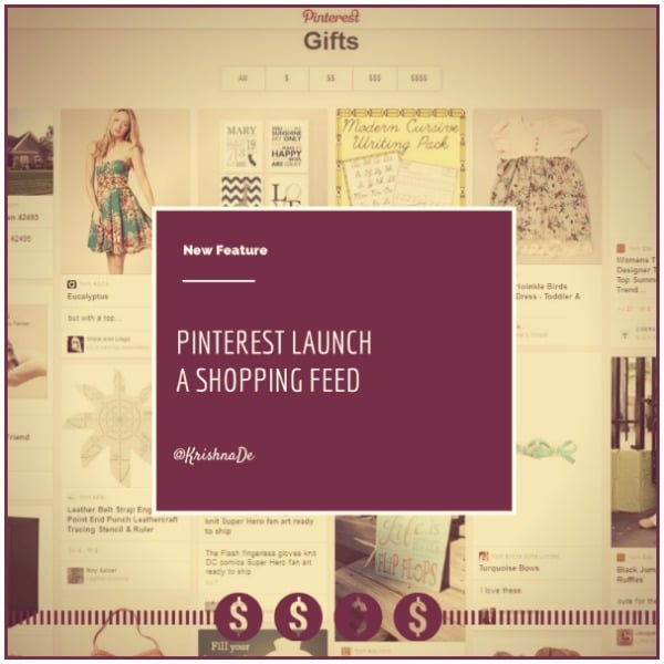 Pinterest marketing tip – a first look at the Pinterest shopping feed and what it means for marketers