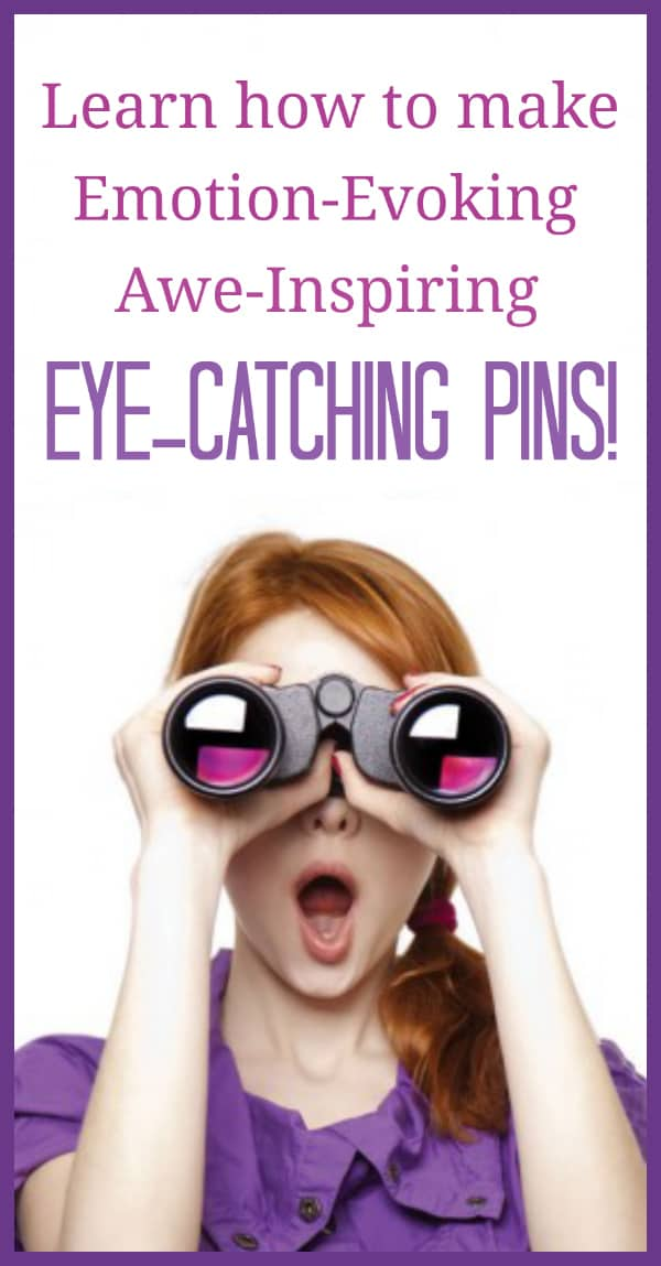 How to create eye catching images for Pinterest success