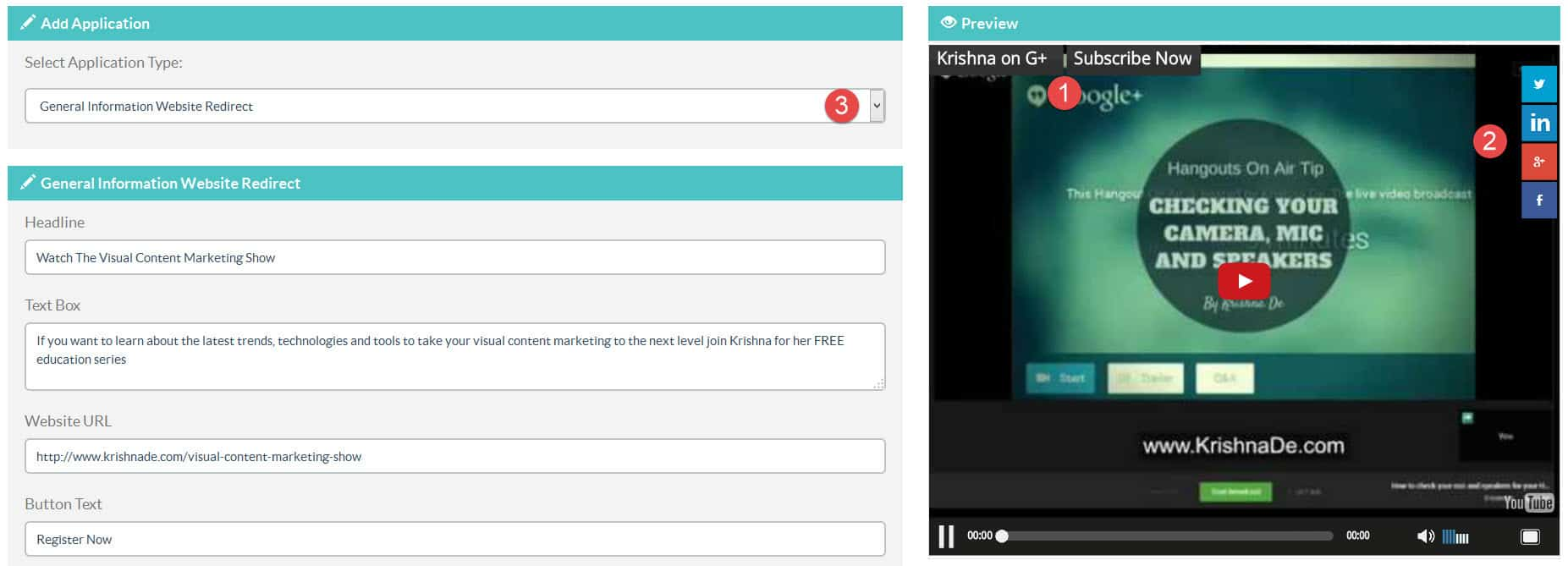 How to add clickable links and social share buttons to your YouTube videos on your blog