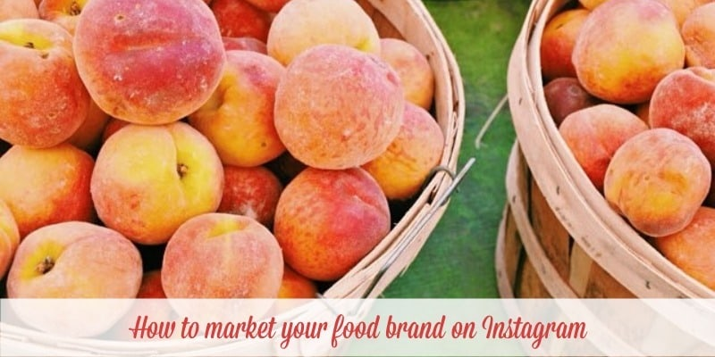 How to use Instagram to market your food business showcasing Instagram case studies for food brands