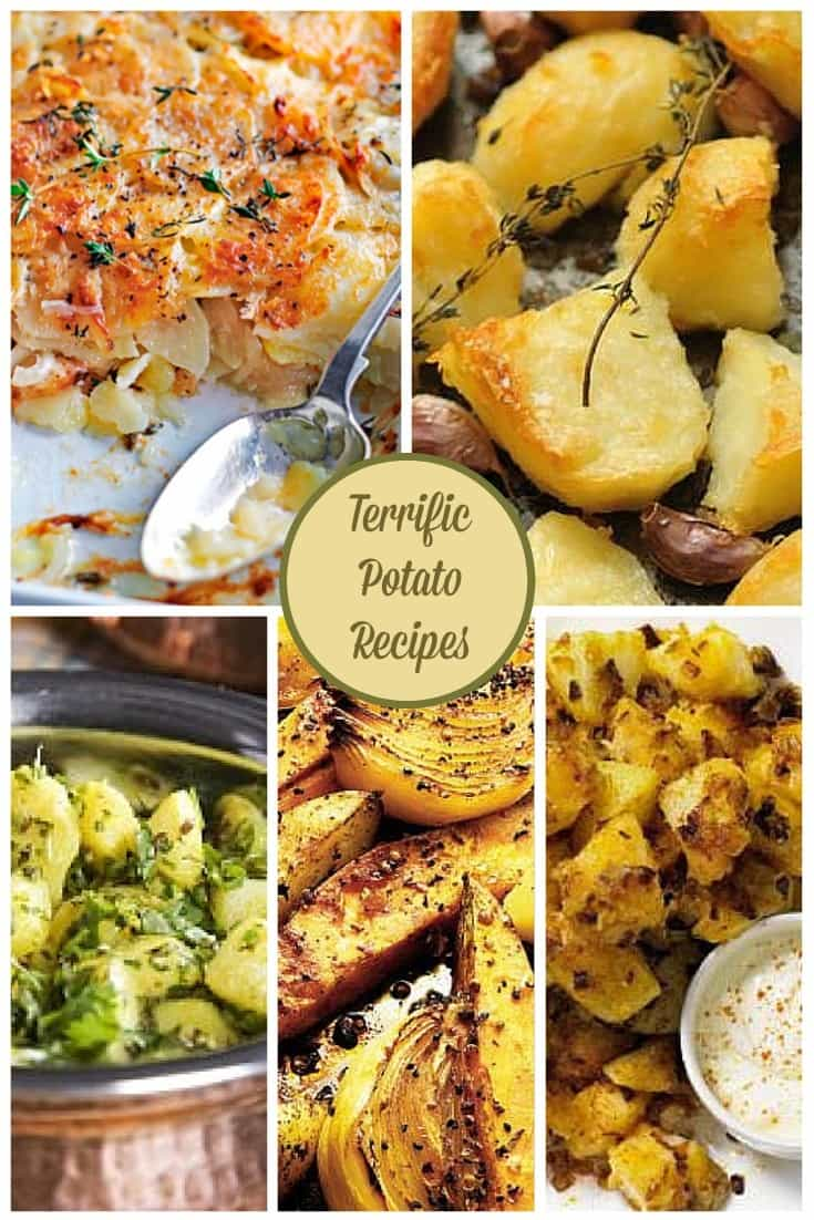 Terrific potato recipes from Cooking With The Kids