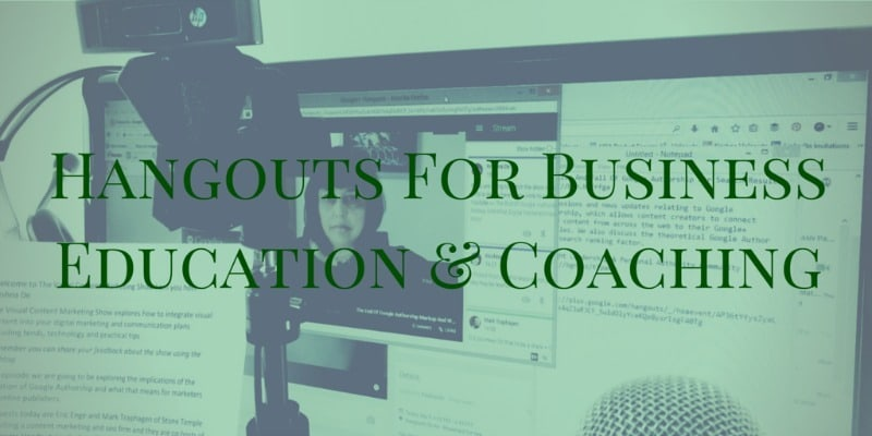 How To Integrate Google Hangouts On Air For Business