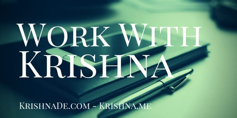 How To Work With Krishna De As Your Digital Marketing Strategist, Social Media Communications Mentor And Online Reputation Trainer