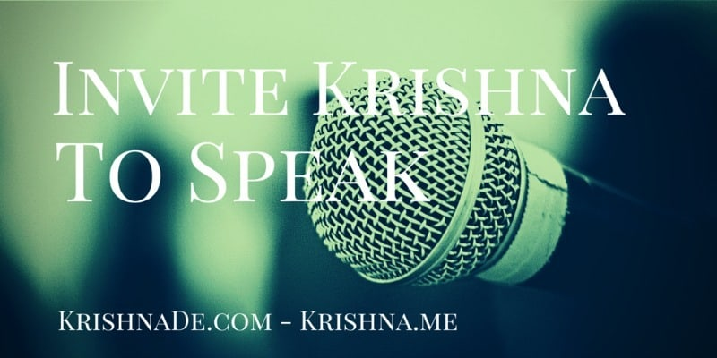 Invite Leading Digital Marketing And Social Media Professional Speaker Krishna De To Keynote At Your Next Conference