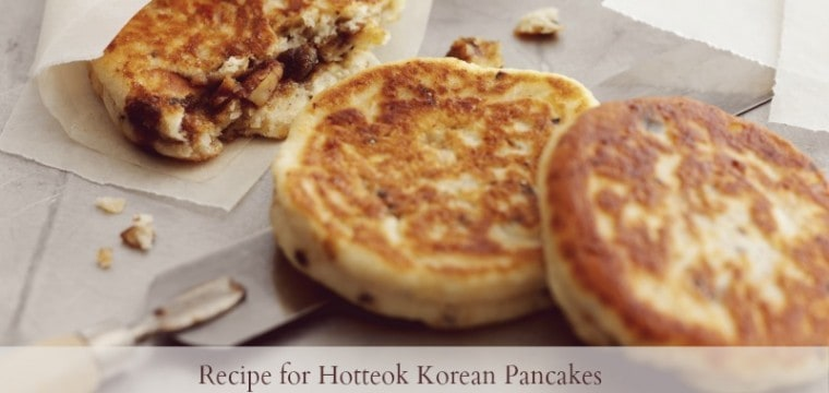 Spice up your Pancake Tuesday with this recipe for Hotteok Korean Pancakes