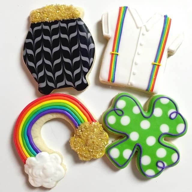 Ideas for decorating your St Patrick's Day cookies
