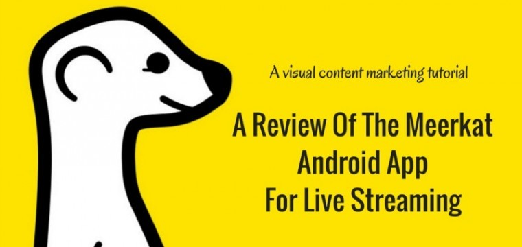 A review of the new Meerkat Android App for mobile live streaming