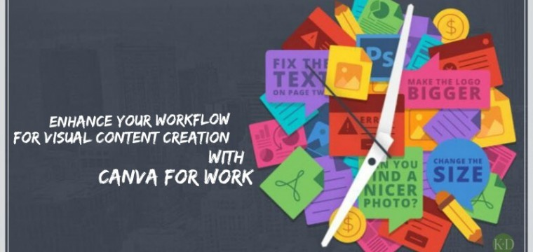 Speed up your visual content creation workflow using Canva for Work