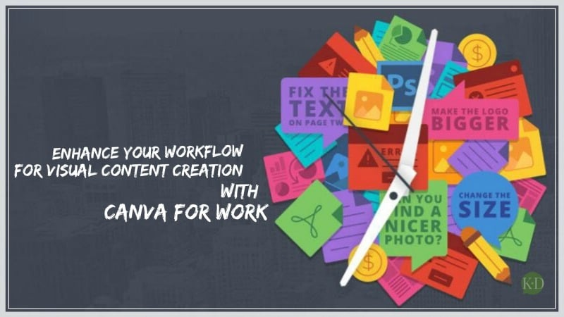 Enhance your workflow for visual content creation with Canva for work