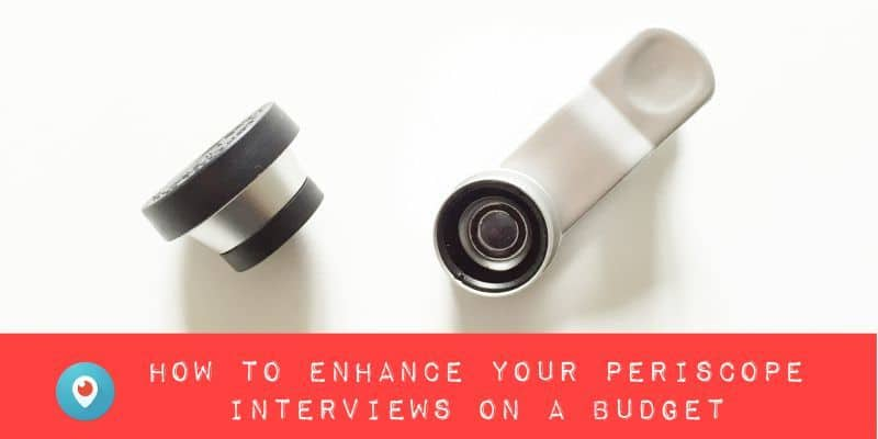 Periscope for business training - enhance your live stream interviews on a budget by Periscope expert @KrishnaDe