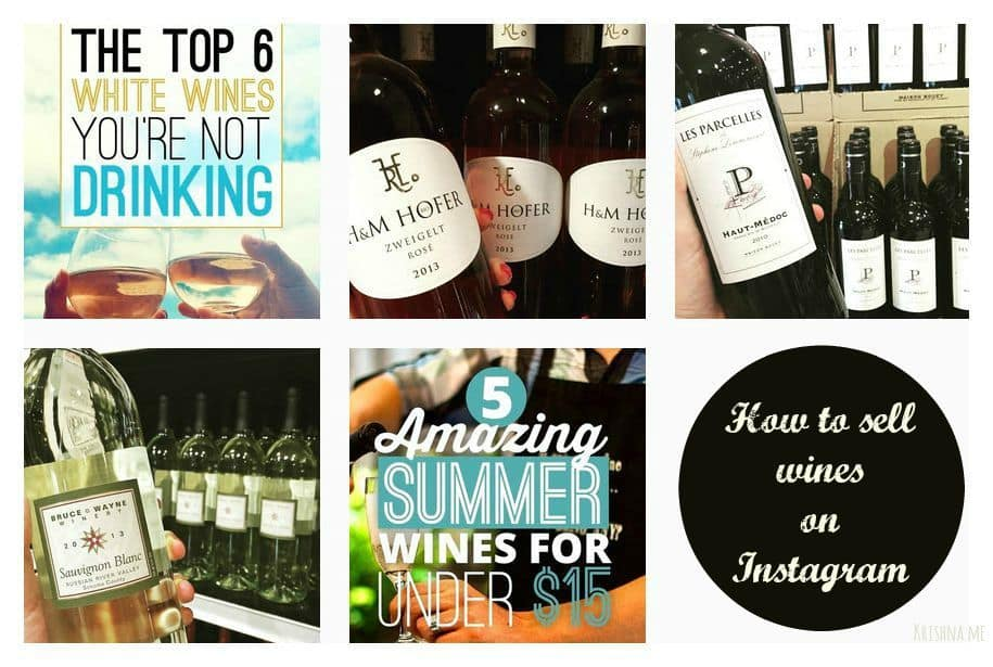 How to promote your wine retail business on Instagram and sell directly from Instagram