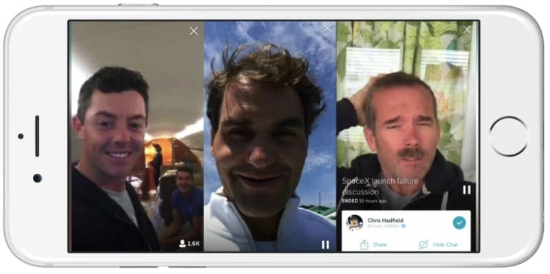 Celebrities engage with their fans through Periscope