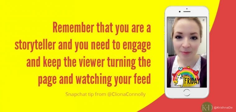 How press officers can use Snapchat to advance their cause and engage their audience