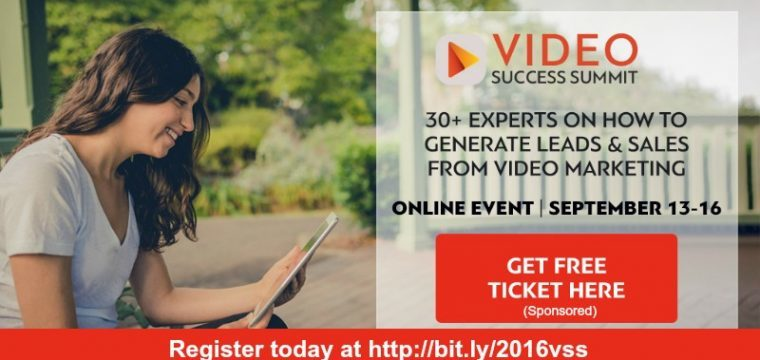 FREE online conference for video marketing success