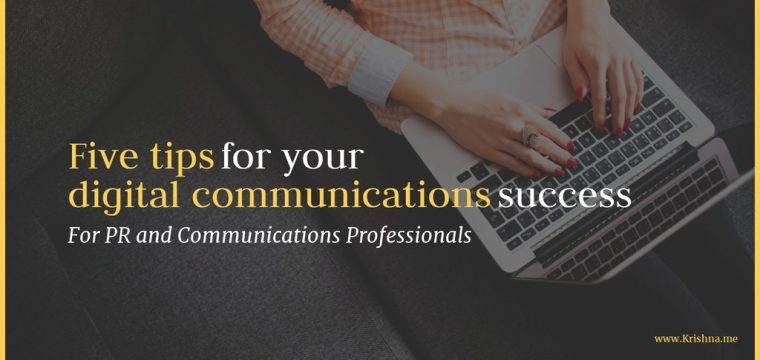 Five actions communications professionals need to have on their agenda for social media and digital marketing campaign success in 2019