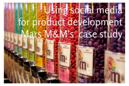 Mars Brand M&M's Uses Social Media For Product Development