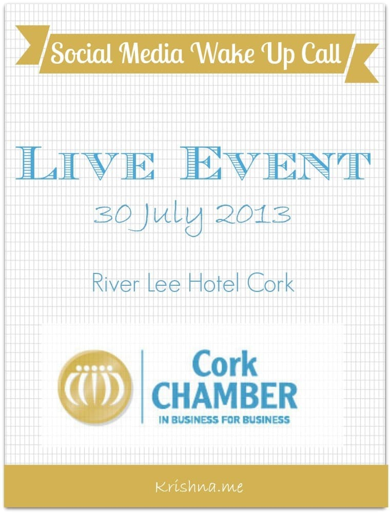 Social Media Wake Up Call Event Hosted By Cork Chamber