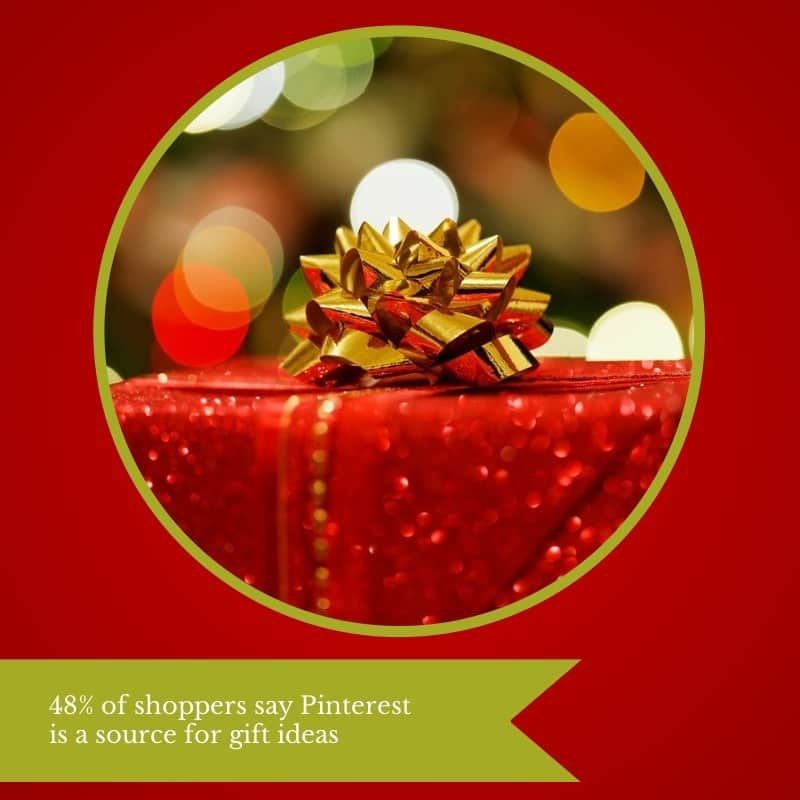 Holiday Social Shopping Trends - 45 percent of shoppers say Pinterest is a source for gift ideas - article by @KrishnaDe