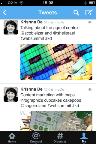 Visual content from images to Vine videos becomes more prominent in the latest Twitter update