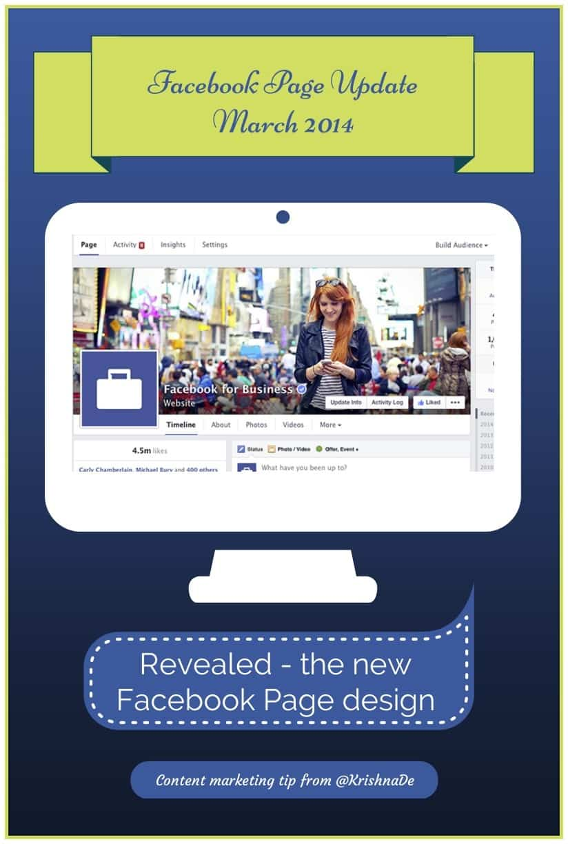 New Facebook Page Design Announced And What It Means For Marketers
