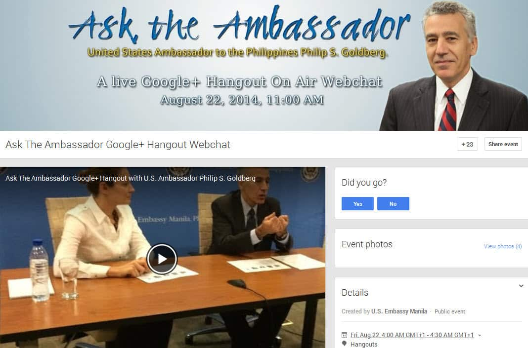 Using Hangouts On Air For Public Sector And Government Organisations