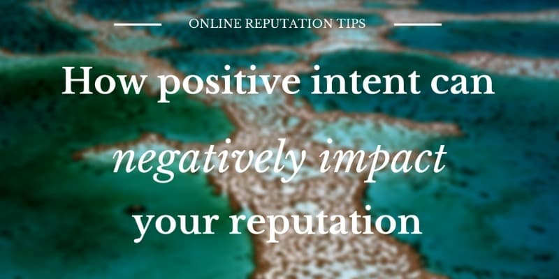 When is it appropriate to comment on a tragedy and how positive intent can lead to an online reputation issue