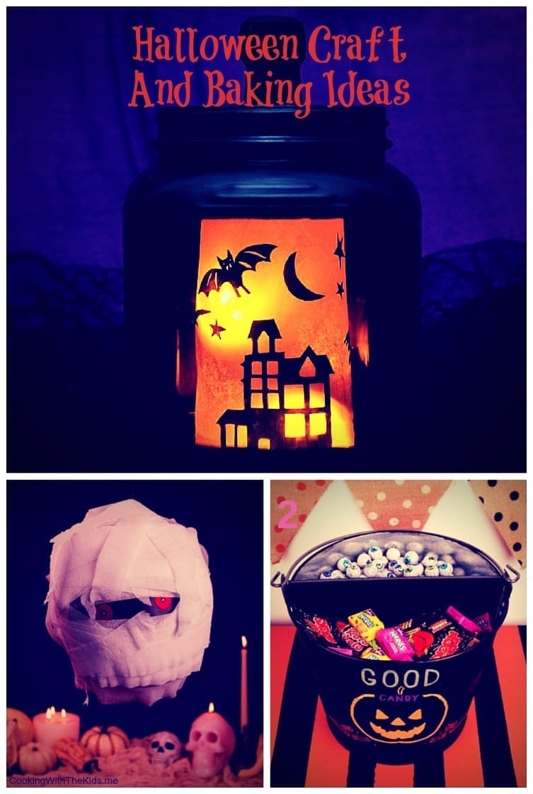 Halloween craft and baking ideas to make at home with the kids