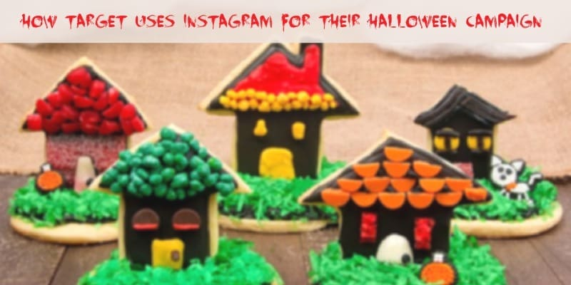 Target turns to Instagram to promote a Halloween crafts and baking campaign