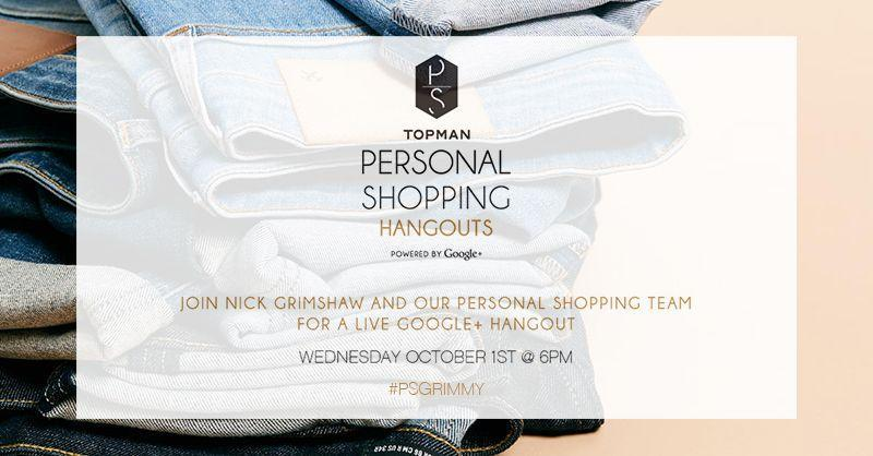UK fashion retailer TOPMAN launch their personal shopping service online using Google Hangouts for social commerce