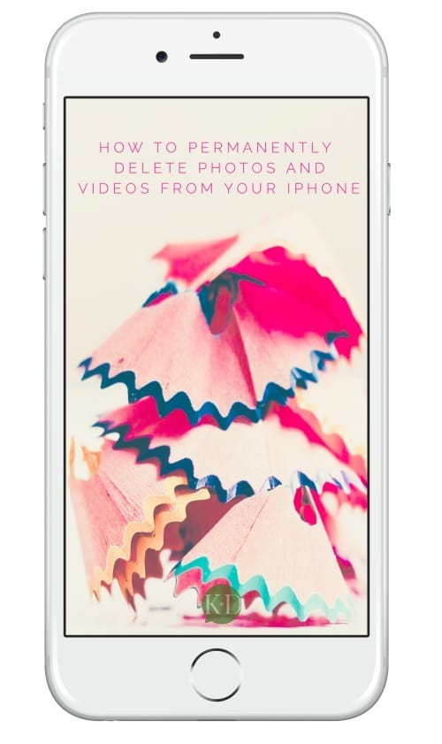 How to permanently delete photos and videos from your iPhone to help you create storage space for visual content creation