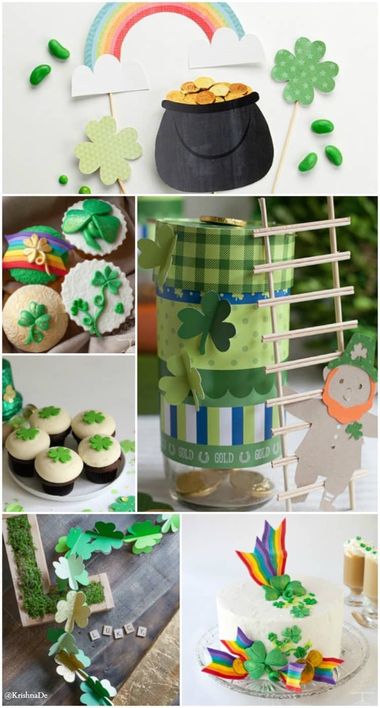 Recipes and decorating ideas for your St Patrick's Day Celebrations