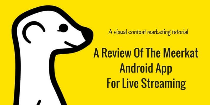A review of the Meerkat Android App for mobile live streaming