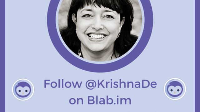 The Visual Content Marketing Show With Krishna De On Periscope and Blab.im