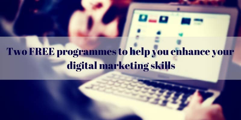 #MyDigitalCareer - sharing 6 ideas to ensure your skills remain relevant and details of a new programme for graduates who want a career in digital