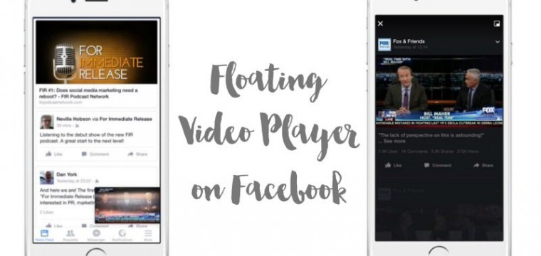 The Facebook Floating Video Player makes it easy to keep scrolling while watching