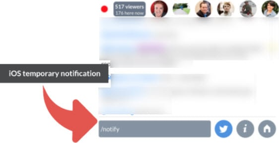 Live stream tips for Blab - notify your followers on the iOS app when you join a stream