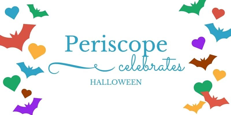 Periscope live streaming app turns hearts to bats for Halloween