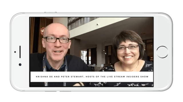 The Live Stream Insiders show for the latest live video news and tips from live video expert Krishna De