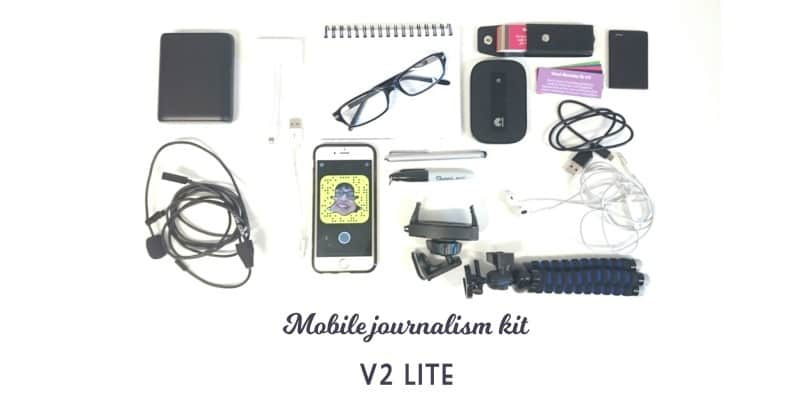 Mobile Journalism Lite Kit by Krishna De
